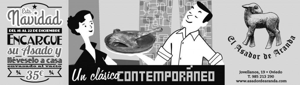 ASADOR DE ARANDA Prensa Faldón 10 módulos b/n