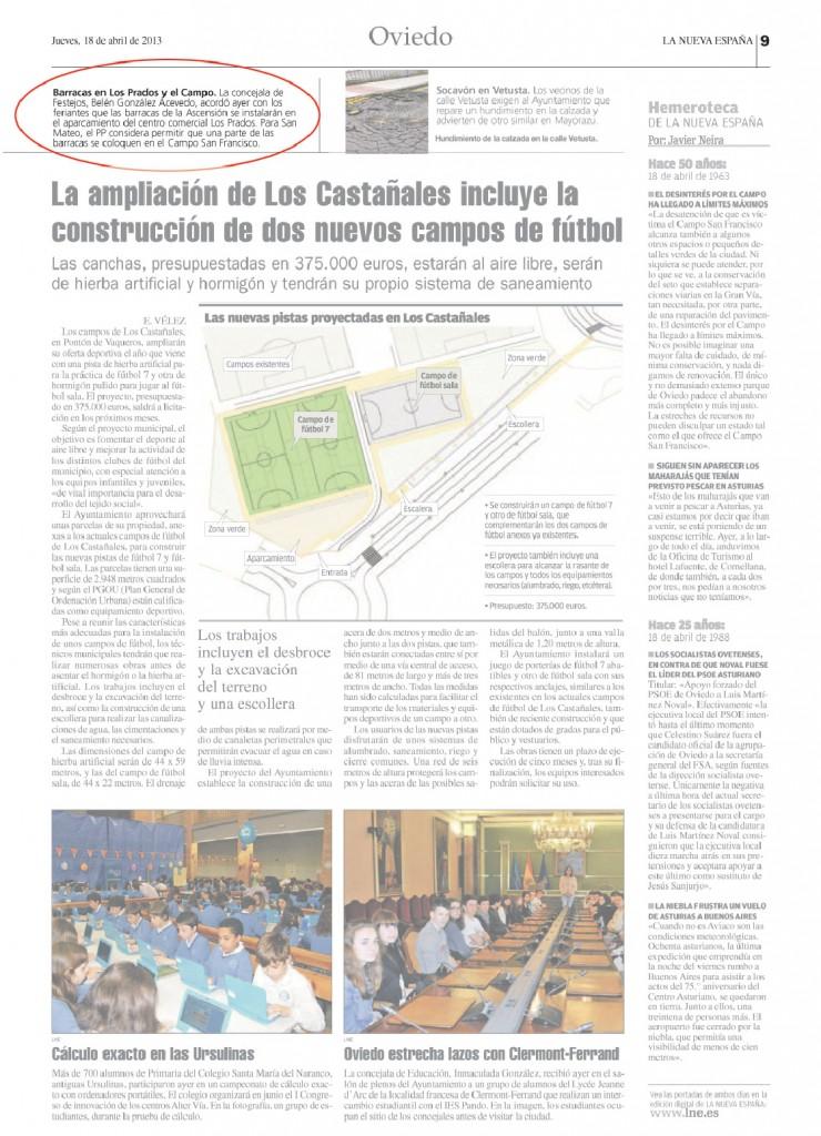 Centro Comercial Los Prados Barracas en el Centro