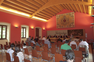 Fundación Selgas Fagalde Rueda de prensa exposición Melendez