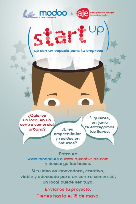 Campaña MODOO - AJE Proyecto apoyo a Emprendedores de retail.