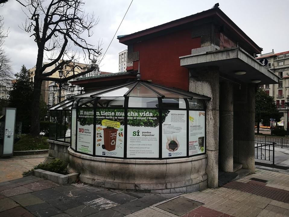 Imagen de la Campaña en vinilos puestos en El Escorialin